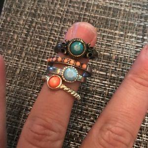 Jewelry - Costume ring set- set of 10